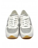 CRIME LONDON SNEAKER DYNAMIC BIANCO 25807