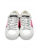 CRIME LONDON SNEAKER LOW TOP ESSENTIAL BIANCO 25620